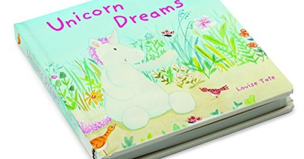 Jellycat Unicorn Dreams Book Board Book By Louise Tate