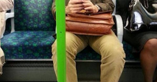 David Tennant. | 19 Celebrities On The London Underground