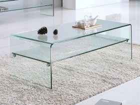 Table Basse De Sejour Avec Rangements Extensible Modulable Gigogne Fixe Vente Unique Table Basse Plateau En Verre Meubles En Verre