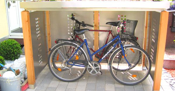 fahrradunterstand 909 682 ideen pinterest fahrr der fahrradgarage und fahrradbox. Black Bedroom Furniture Sets. Home Design Ideas