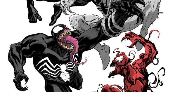Anti Venom Dibujo A Lapiz
