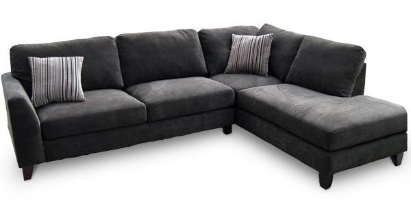 L Shaped Fabric Leather Upholstery Classic Gray Sectional Sofa Ikea Design  Ideas | Living Room | Pinterest | More Grey sectional sofa, Ikea design and  Grey ... - L Shaped Fabric Leather Upholstery Classic Gray Sectional Sofa