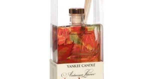 Autumn Leaves 3oz Signature Reed Diffuser By Yankee Candle