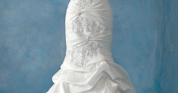 Ariel bridal gown by Alfred Angelo's Disney Fairy Tale Weddings collection
