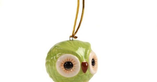 Ceramics, Owl and Ornaments on Pinterest