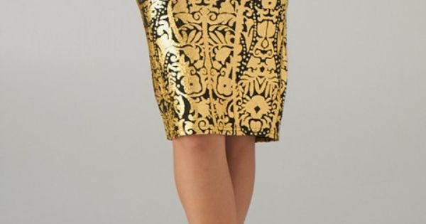 Baroque skirt