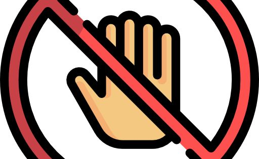 Do Not Touch Free Vector Icons Designed By Freepik Vector Icon Design Free Icons Icon Design