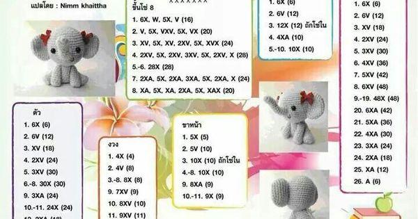 Amigurumi Maneki Neko Free Pattern : Pattern thai amigurumi Foto patrones ( varios idiomas ...