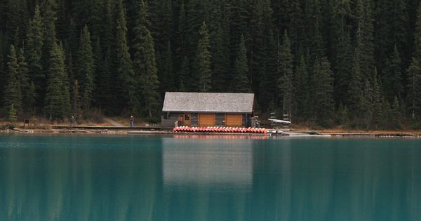 Cabin -- Lake Louise, Canada