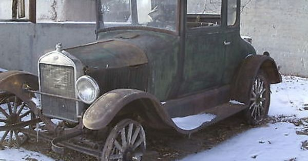 Ford Model T N A 1926 Model T Ford Coupe Solid Original Barn