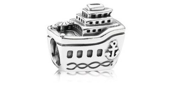 Beautiful Sterling silver 925 sterling Sterling Silver Reflections Cruise Ship Bead