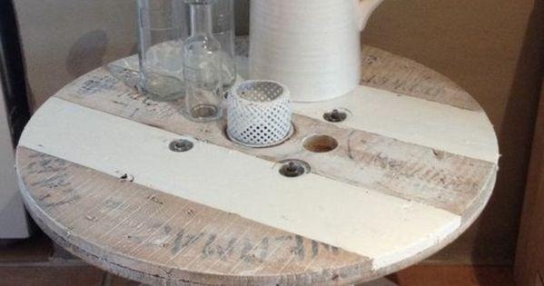 1001 id es que faire avec un touret des inspirations r cup tables basses en bois touret et. Black Bedroom Furniture Sets. Home Design Ideas
