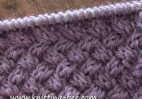 How To Knit Purl Stitch For Dummies : Diagonal Basketweave Cable Stitch pattern Knitting For Dummies Pinterest ...