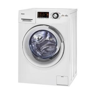 Haier 2 0 Cu Ft White 120 Volt Ventless Electric All In One Washer Dryer Combo Hlc1700axw The Home Depot Washer Dryer Combo Washer And Dryer Compact Laundry