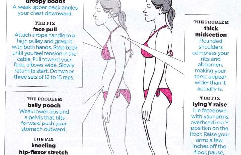 exercises to fix bad posture - Click image to find more Health