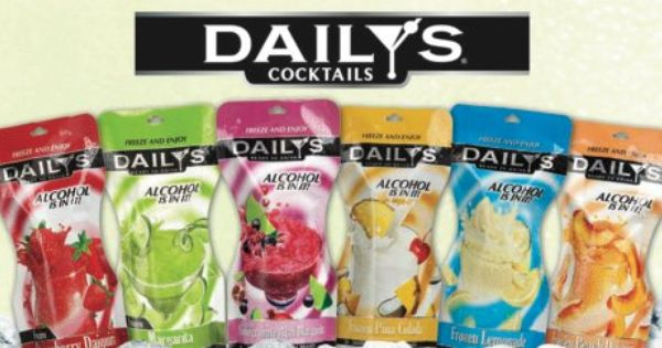 Daily's frozen cocktail pouches | Drinks | Pinterest ...