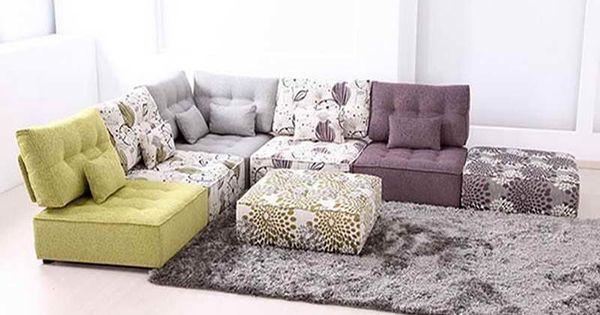 Zipzip Floor Cushions modular floor pillows | roselawnlutheran