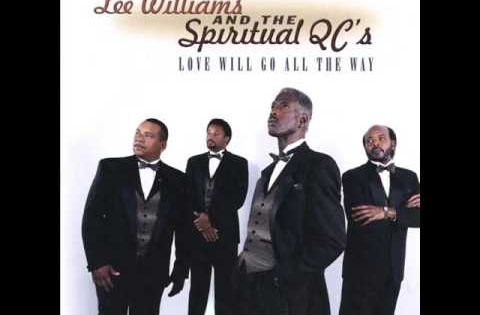 Original Gospel Group 39The Caravans39 Pose For A Protrait With James Herndon In
