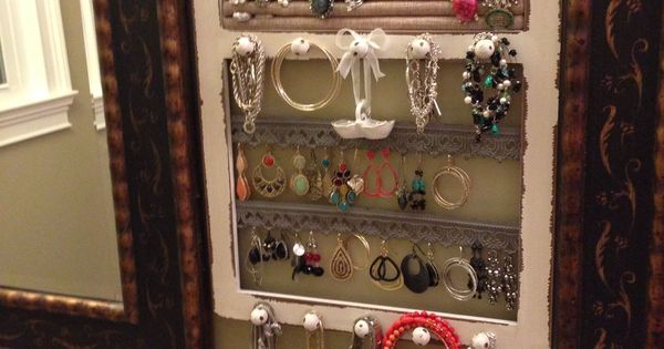 Jewelry frame hobby lobby or diy home sweet home for Hobby lobby jewelry holder