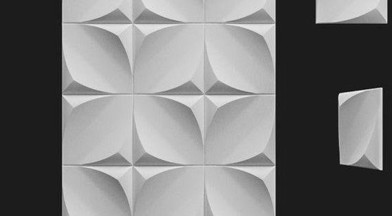 Plastic Mold 039 For Gypsum And Concrete 3d Panel Form For Making Plaster Decor 3d Panel Plastic Mold 3d Mold For Decorative Wall Panels Ol In 2020 Verkleidung Wande Formenbau Und Wanddekoration
