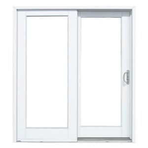 Mp Doors 72 In X 80 In Fiberglass Smooth White Right Hand Outswing Hinged Patio Door Ht6068r00201 The H In 2020 Patio Doors Sliding Patio Doors Folding Patio Doors
