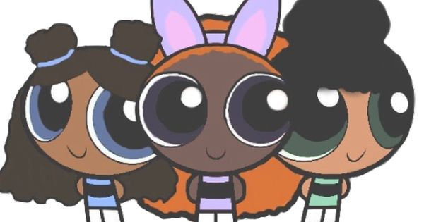 Black Powerpuff Girls Tumblr Black Girl Cartoon Black Girl Art Black Girl Magic Art