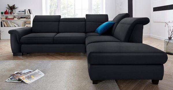 Domo Collection Ecksofa Wahlweise Mit Bettfunktion Und Ruckenverstellung Online Kaufen Ecksofas Sofa Polsterecke