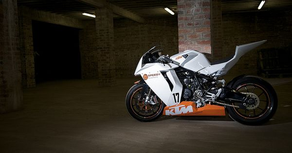 Art KTM RC8 racebike motorbikes