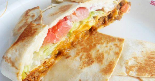 Taco Bell Restaurant Copycat Recipes: Crunch Wrap Supreme