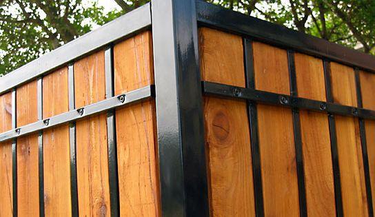 Estate Fence 7 Backyard Fences Iron Fence Brick Fence