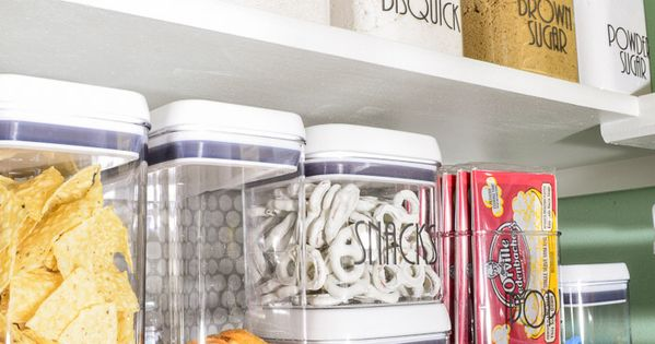 Organized Pantry Reveal One Room Challenge Pantry