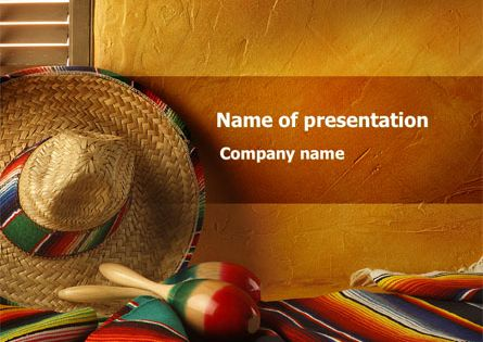 for Mexican themed powerpoint template