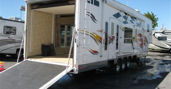 Used 2007 Fleetwood Gearbox Fifth Wheel Toy Haulers For