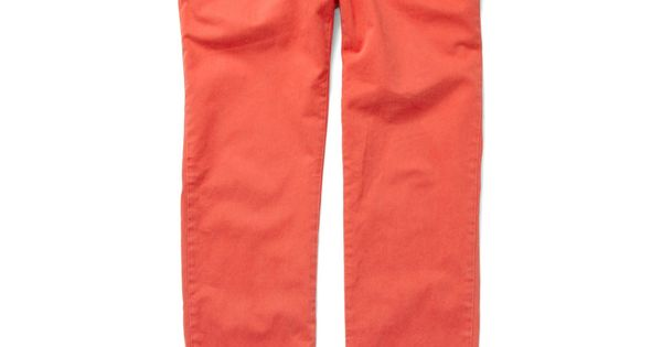 Coral pants? Yes, please!