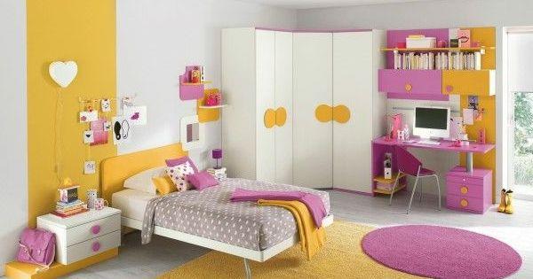 Eckkleiderschrank kinderzimmer  moderner eckkleiderschrank kinderzimmer interieur farbig ...