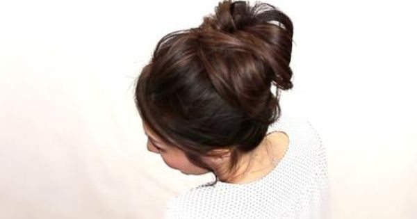 Four Easy Hairstyles-pull Through Waterfall, Ponytail