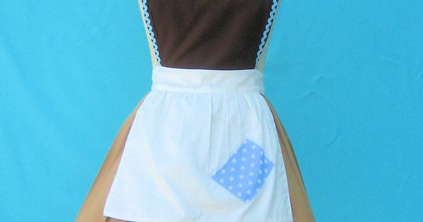 Cinderella apron! Would make cleaning so much more fun! This Etsy listing