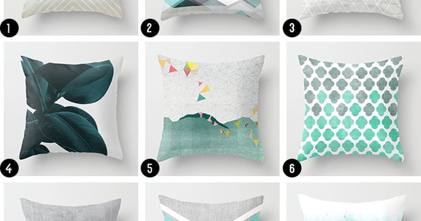 Helpful Tips to Style Your Throw Pillows Teal throws, Throw pillows and Teal