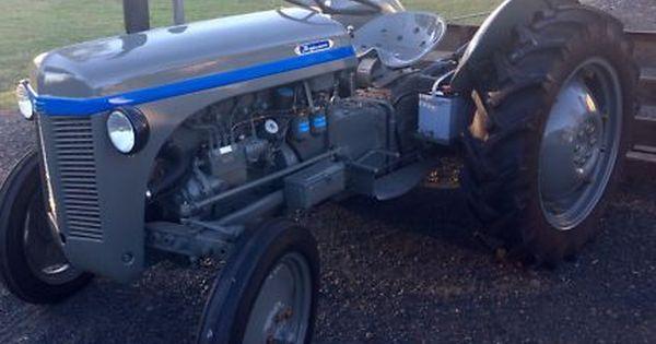 Tef 20 Massey Ferguson Tractor Collectables Gumtree Australia