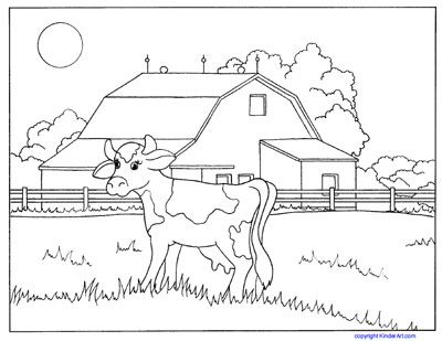 Coloring Pages Of Farm Animals And Baby Animals Including Cow Pig Horse Lamb Rooster Chicke Animal Coloring Pages Animal Sketches Easy Farm Coloring Pages