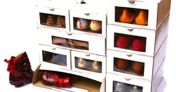 Crea un organizador de zapatos con tus propias manos - Organizador zapatos ikea ...