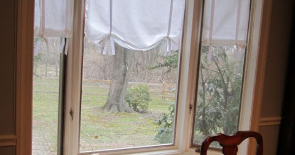 Diy Tutorial Make Your Own No Sew Drape Shade Curtains