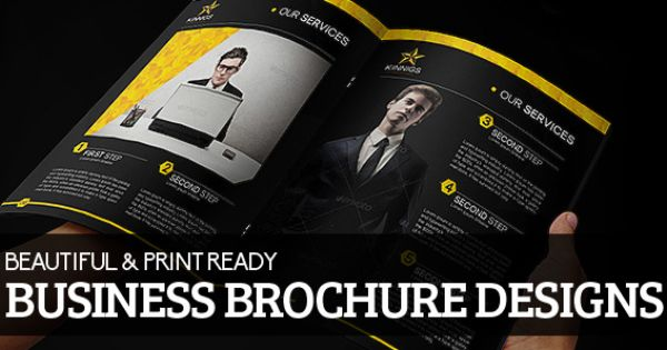Beautiful Print Ready Business Brochure Designs #Brochuredesign