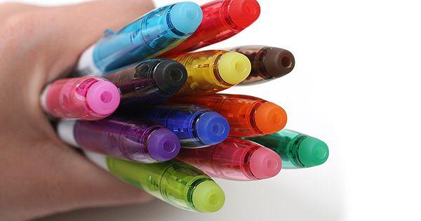 Pilot FriXion Colors Erasable Marker Pen I LOVE THESE.