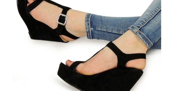 Koturny Platformy Harriet Sock Shoes Shoes Wedges