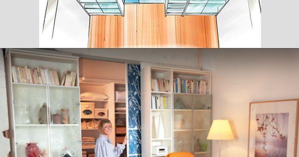 Create a walkin closet thanks ikea hnliche tolle projekte - Wohnideen magazin ...