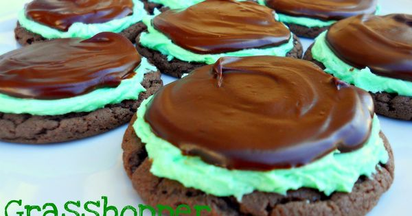No need to buy Grasshopper cookies. Make them yourself with this easy