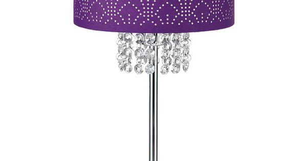 Passion Table Lamp : 38cm Metal Table Lamp Purple - TMT5454-1  My Passion for Purple ...
