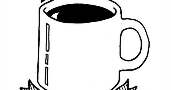 Truth. caffeine drawing coffee