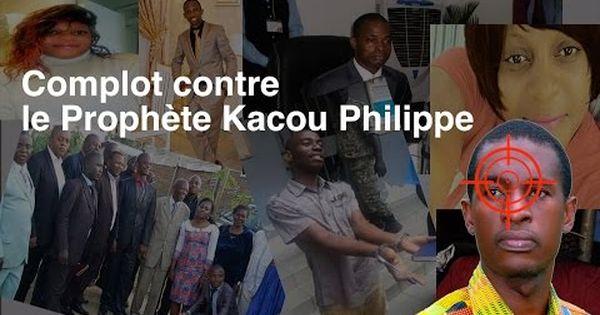 LIBÉRÉ LE PROPHÈTE KACOU PHILIPPE - Magazine cover